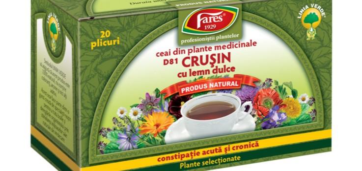 ceai de crusin laxativ